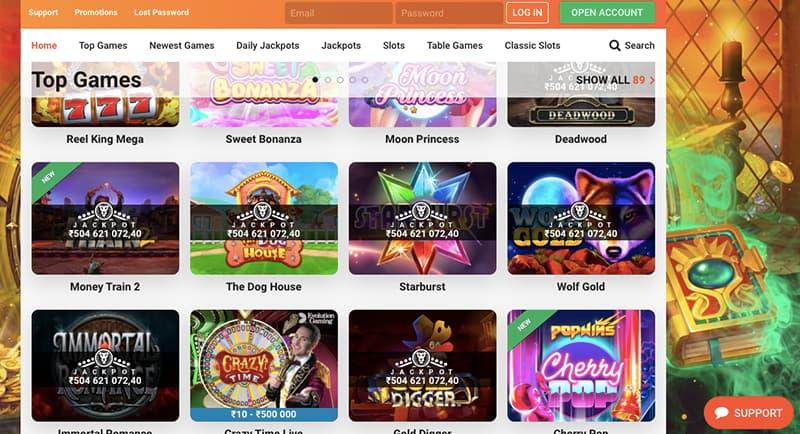 leo vegas casino online top games