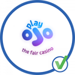 playOJO the fair casino logo