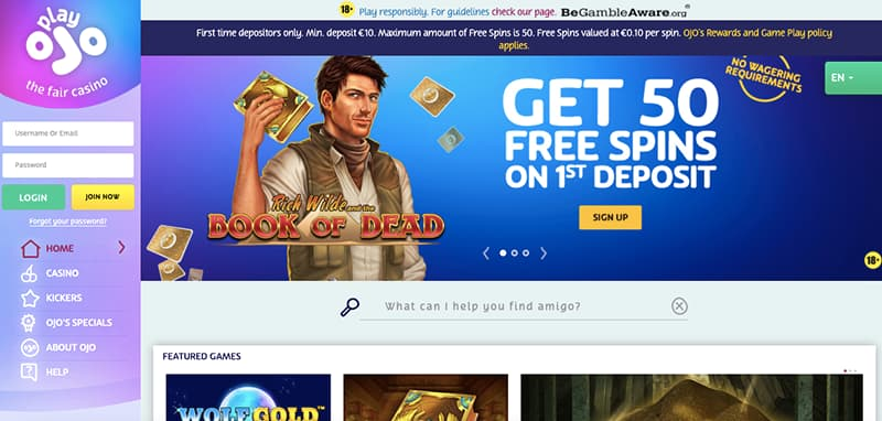 playojo casino online fair casino