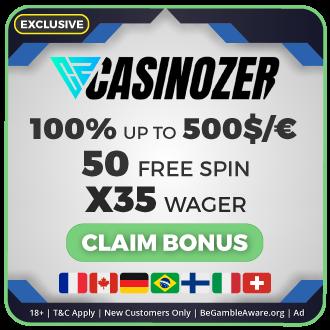 GambleMojo Exclusive Bonus Casinozer Casino