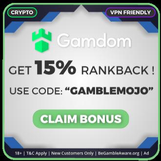 GambleMojo Exclusive Bonus Gamdom Casino