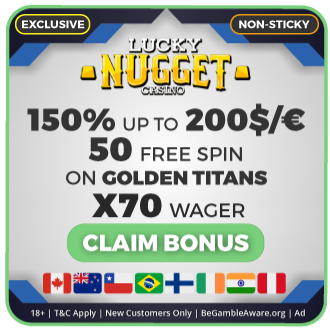 GambleMojo Exclusive Bonus Lucky Nugget Casino