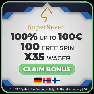 GambleMojo Exclusive Bonus SuperSeven Casino