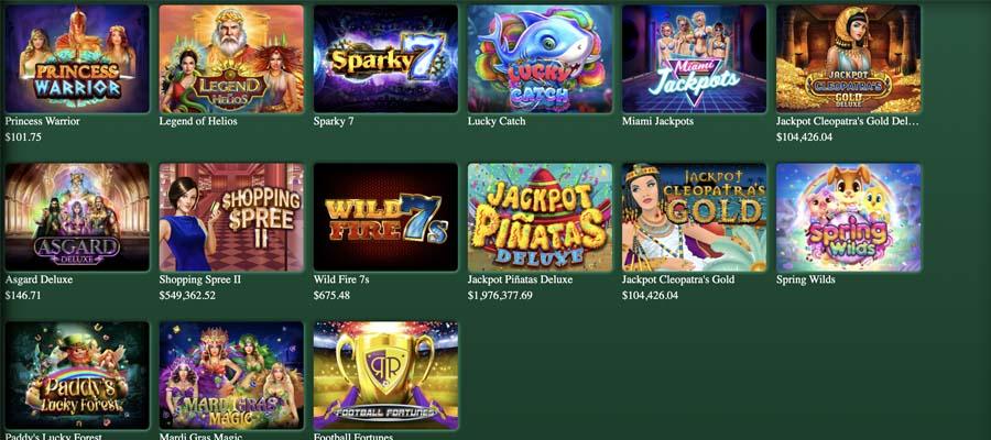 screenshot fair go casino games