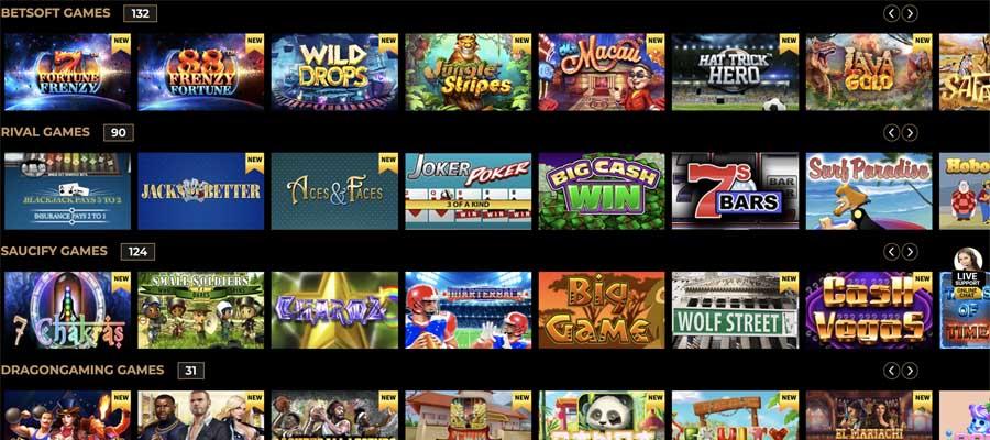 screenshot hallmark casino games
