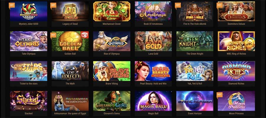 screenshot king billy casino games
