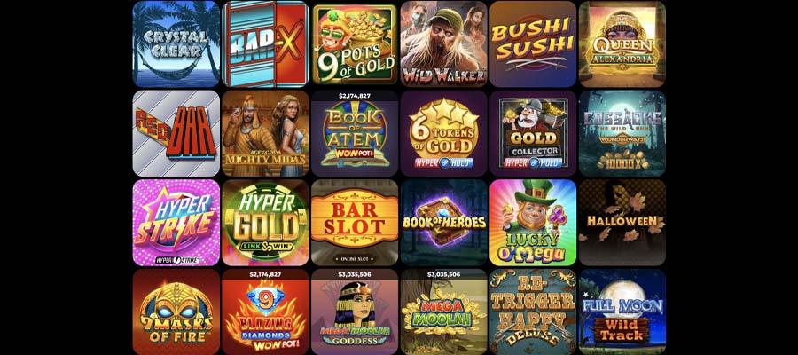screenshot powerplay casino games