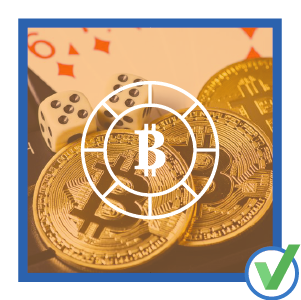 Bitcoin at an online casino